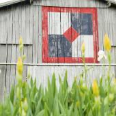 Bow Tie quilt barn, Adams County, Ohio