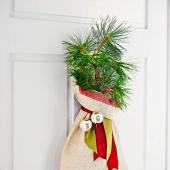 Tree door decoration