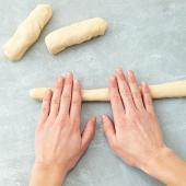 Step 1: Roll the dough