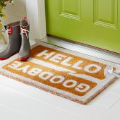 Painted doormat