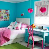 Spirited flair bedroom