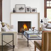 Saint Paul fireplace