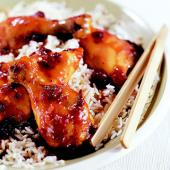 Blue-Ribbon Cranberry Chicken