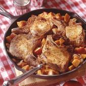 Sweet Potato and Pork Skillet