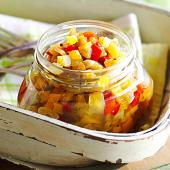 Fresh Green Tomato Relish