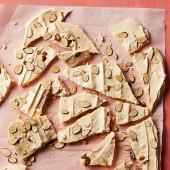 Almond Meringue Bark
