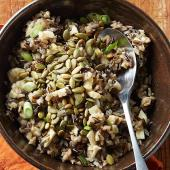 Apple and Pepita Wild Rice Blend
