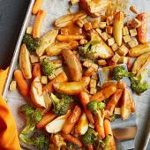Asian-Roasted Vegetables with Tofu