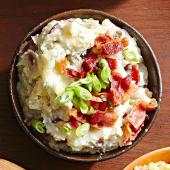 Bacon-Blue Cheese Mashed Potatoes
