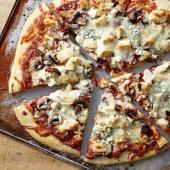 Blue Cheese and Balsamic Chicken Pizza