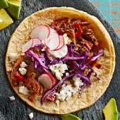 Beer-Braised Brisket Tacos