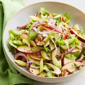 Celery and Apple Salad with Walnuts