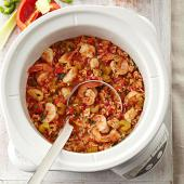 Chicken slow cooker Chicken & Shrimp Jambalaya