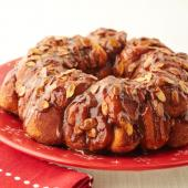 Chocolate-Kissed Monkey Bread
