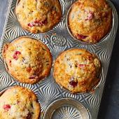 Cranberry-Orange Wild Rice Muffins