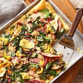 Eat-Your-Greens Pizza