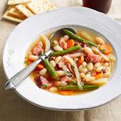 Fennel and Bean Ham-Bone Soup