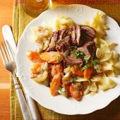 Slow Cooker German-Style Beef Roast