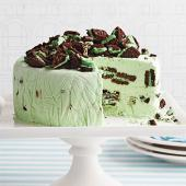 Pint-Size Grasshopper Icebox Cake