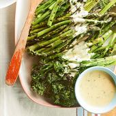 Grilled Vegetables with Summer Hollandaise