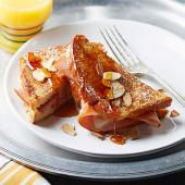 Ham-and-Cheese Stuffed French Toast
