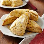 Honey Cream Scones
