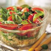 Italian Basil, Tomato and Pasta Salad