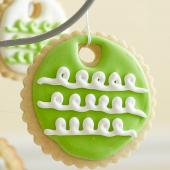 Lemon-Vanilla Ornament Cookies