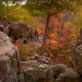 Hiking in Taylors Falls, Minnesota
