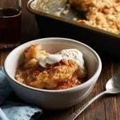 Maple-Apple Pudding Bake