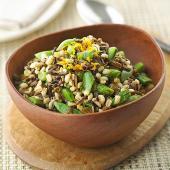 Minted Wild Rice and Barley Salad