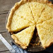 Old-Fashioned Buttermilk Coconut Pie