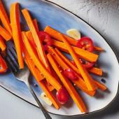 Pickled Carrots with Coriander and Chiles