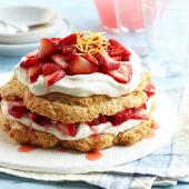 Pink Lemonade Strawberry Shortcake