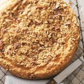 Pumpkin-Sour Cream Coffee Cake with Pecan Streusel