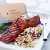 Glorious Glazed Salmon