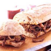 Smoky Brisket Sandwiches