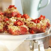 Strawberry-Rhubarb Bars