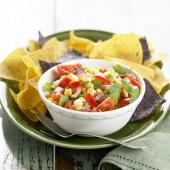 Fresh Corn, Tomato and Chipotle Chile Salsa