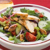 Harvest Salad with Walnut Oil Vinaigrette