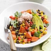 Mexican Sweet Potato-Veggie Medley