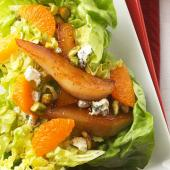 Roasted Pear and Clementine Salad