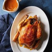 Roast Chicken with Pan Gravy