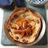 Sausage-Apple Dutch Baby