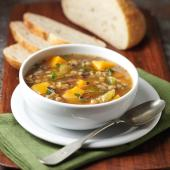 Butternut Squash, Lentil and Wild Rice Stew