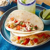 Tilapia Tacos with Chipotle Cream