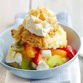 Tropical Ambrosia Shortcake