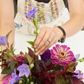 Choose focal flowers