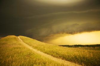 Spirit Mounds in South Dakota.