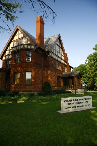 William Allen White State Historical Site.